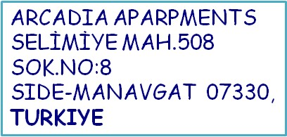 Arcadia Port Address